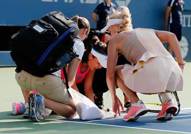 Peng Shuai Retires from US Open Semifinal after Bizarre, Controversial Scene