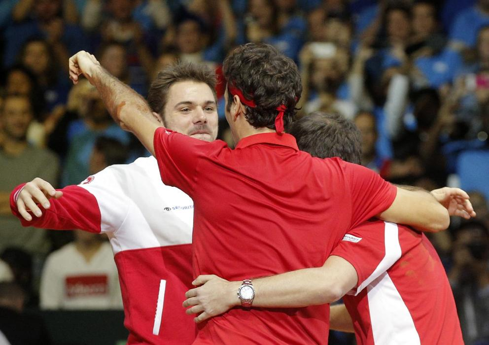 Stan Wawrinka Earns Major Street Cred as Federer's Sidekick