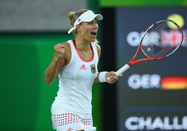 Kerber Powers Past Konta to Set Keys Clash in Rio