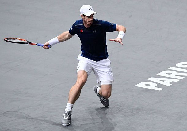 Murray Stays Hot, Thumps Pouille in Paris to Reach QF