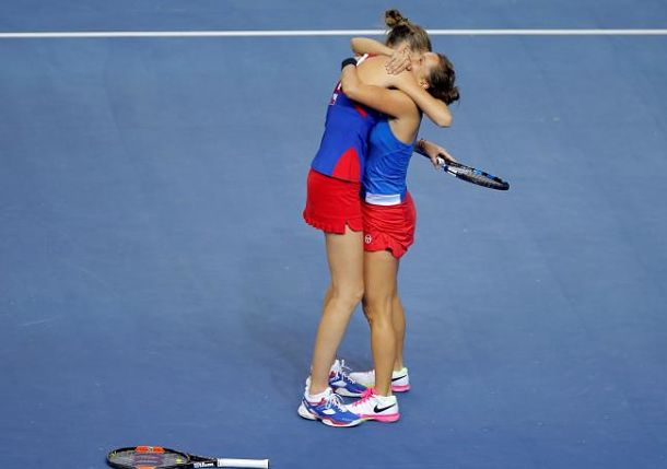 Strycova Unlikely Hero in Czech Fed Cup Triumph