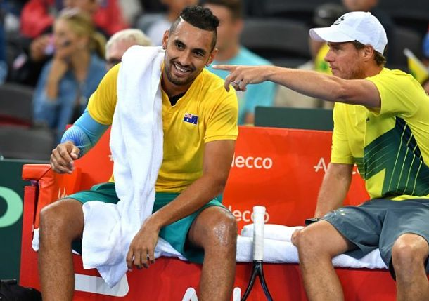 Davis Cup Update: Aussies Split with Germany on Day 1