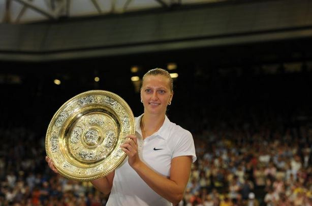 Video: Petra Kvitova Plays Dazzling Defense Against Eugenie Bouchard in Wimbledon Final
