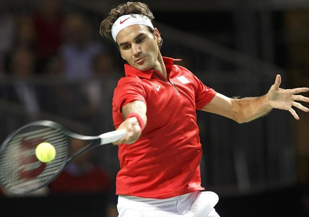 Federer Brings Swiss Level After Wawrinka Shocker