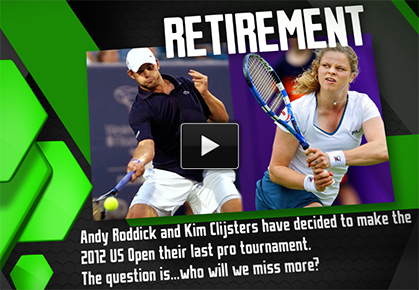 Clijsters or Roddick, Who Will Be Missed More?