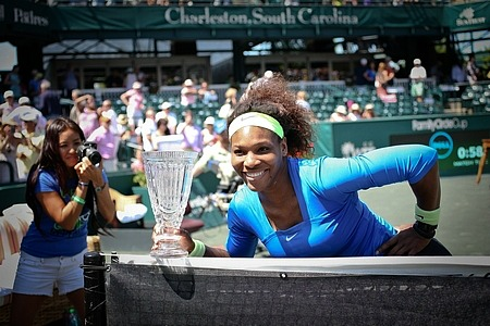 Serena Williams Committed to Return to Family Circle Cup