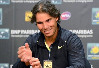 Nadal Looks Ahead To Next Indian Wells Challenge