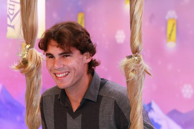Rafaal Nadal Visits Disney Land