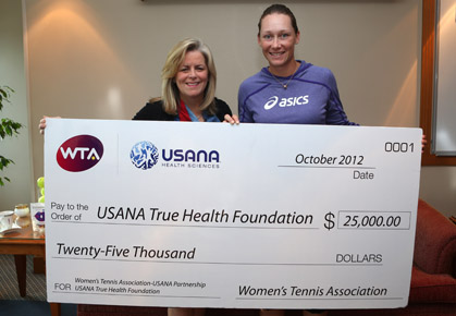 WTA Continues to Support the USANA True Health Foundation