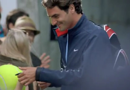 VIDEO: Federer's New Mercedes Benz Commercial