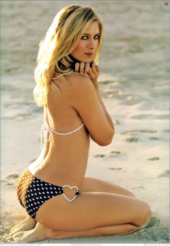 Maria Sharapova voted World's Sexiest Female Tennis Player