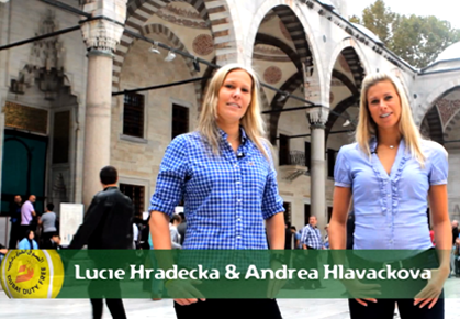 Video: Hradecka and Hlavackova's 'Full of Surprises'