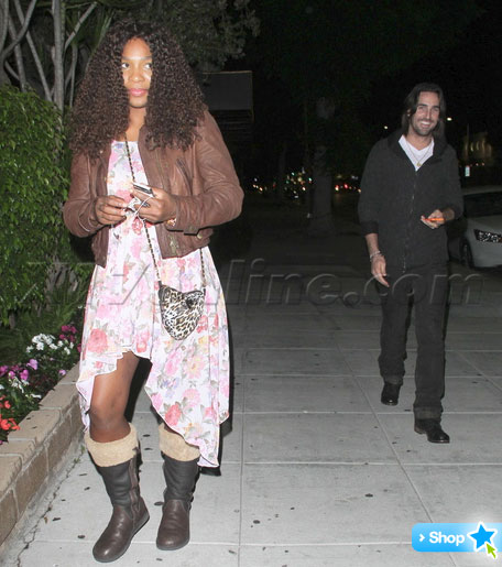 Serena Williams On Date With Jake Owen