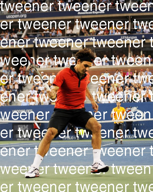 Roger Federer Does Third Tweener