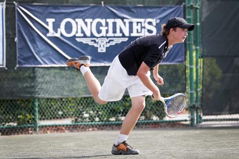 Floridian Adam Neff Wins Longines Future Tennis Aces on the Road to the French Open U.S. Qualification
