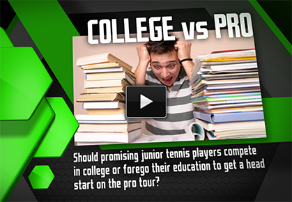 Should Top Juniors Turn Pro or Head to College?
