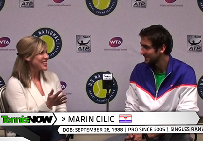 Marin Cilic On His Personality, Croatian Fans, and Why He Loves Playing Pro Tennis