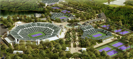 Miami Plans New Show Courts, Upgrades by 2015