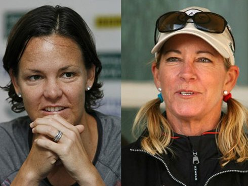 Chris Evert, Lindsay Davenport, Justin Gimelstob show acting chops on CSI