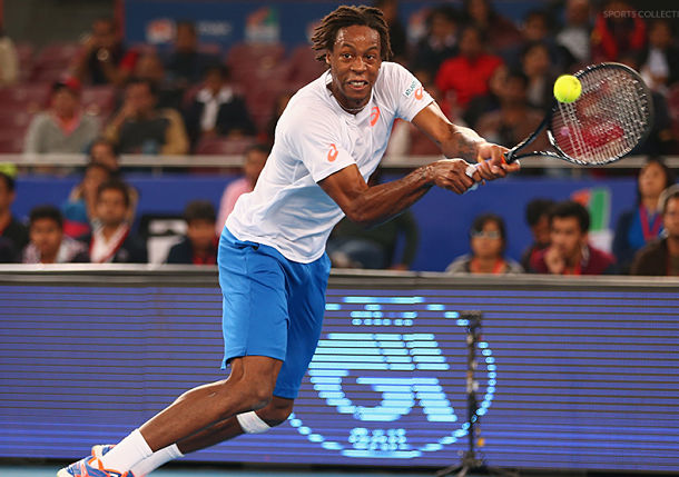 Video: Monfils' Miracle During IPTL Match in New Delhi