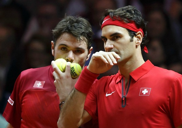 Federer, Wawrinka Reunite With Trip To AO Final On Line