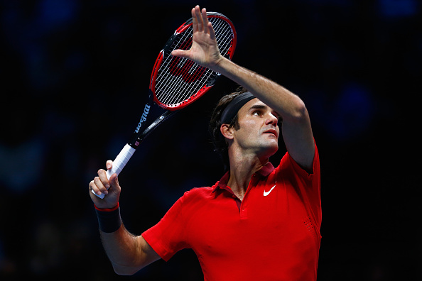 Federer Beats Nishikori to Earn 70th Season Win in London