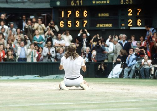 Bjorn Borg on Grass