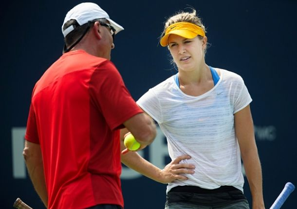 Eugenie Bouchard and Nick Saviano Have Parted Ways