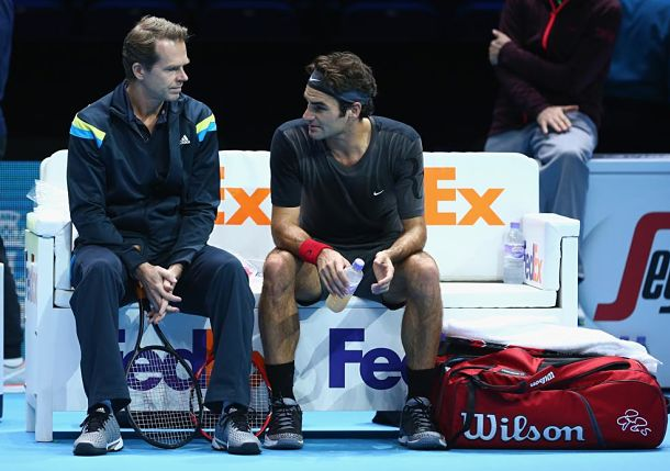 Federer Says Edberg Wanted Him to Play More