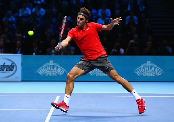 Federer Romps, and It's Curtains for Murray
