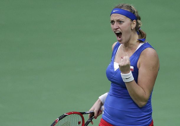 Kvitova, Safarova Put Germans on Brink of Elimination in Prague