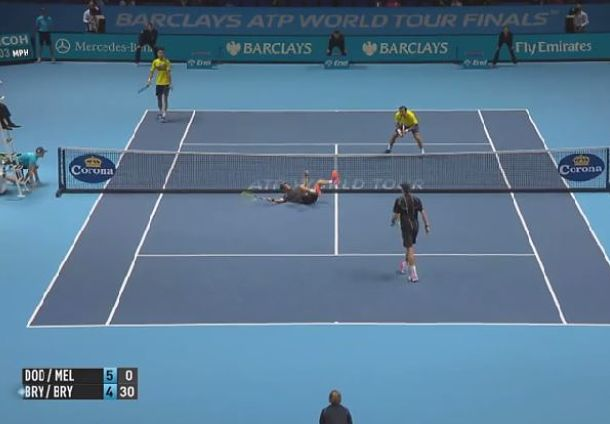 Video: That's Using Your Head, Mike Bryan