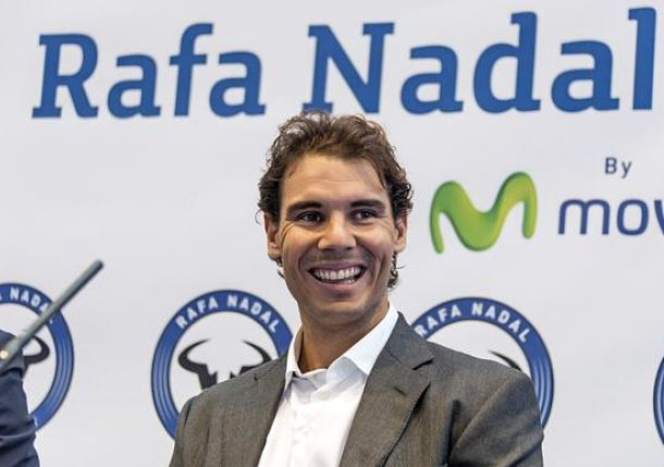 Rafael Nadal Places Time Capsule Beneath His New Tennis Academy