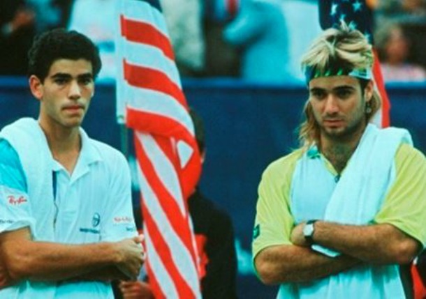 Sampras Agassi Rivalry