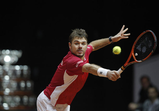 Wawrinka Gives Swiss Early Lead in Lille