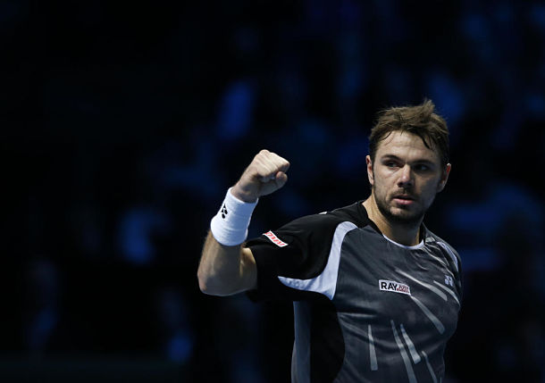 Wawrinka Qualifies, Semis Set in London