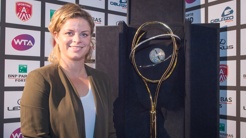 Kim Clijsters Starts New Role as Tournament Director