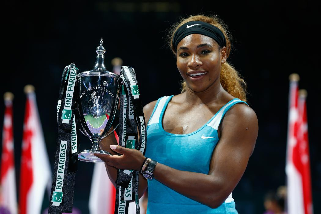 Serena Statement: Williams Wins WTA Finals Over Halep