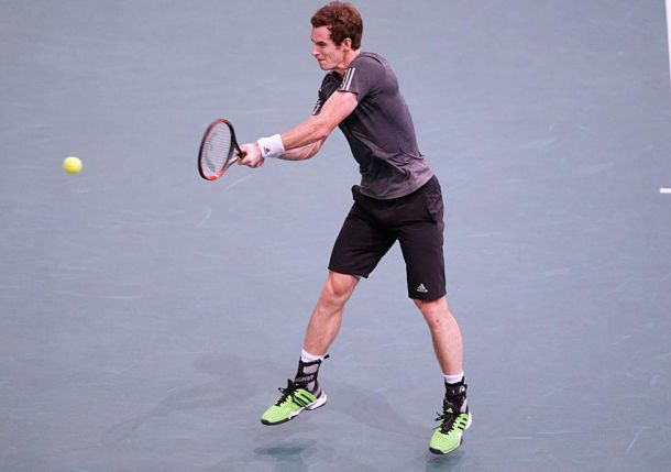 Murray Books London Spot with Thrashing of Dimitrov