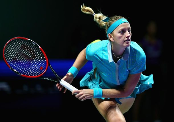 Kvitova Finally Solves Sharapova Again in Singapore