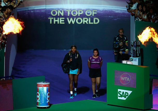 Heroes and Zeros: Serena's Singapore Statement, Roger Raises the Roof
