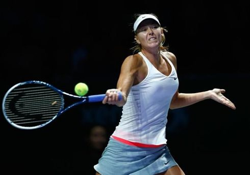 Despite Victory over Radwanska, Sharapova Eliminated