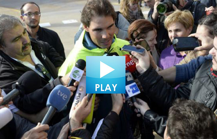 Federer Tours London – Serena Ice Skates – Nadal Recovers