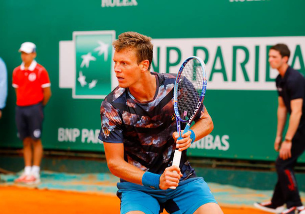 Berdych Powers Past Monfils Into Monte-Carlo Final