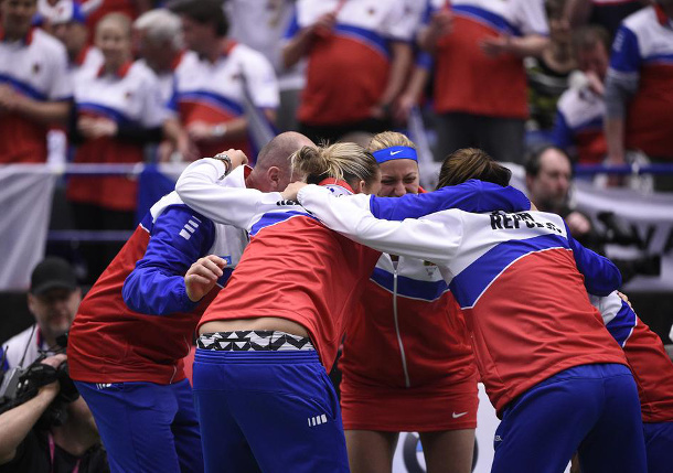 Kvitova Clinches Czech Return to Fed Cup Final