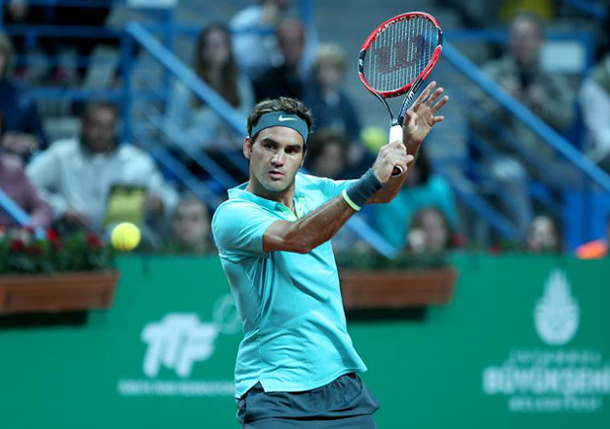 Federer Tops Nieminen to Roll Into Istanbul Quarterfinals