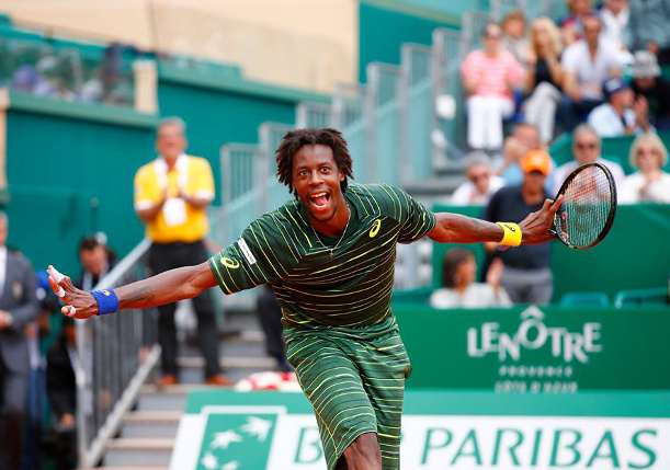 Monfils Dusts Dimitrov, Will Face Berdych in Monte-Carlo Semifinals