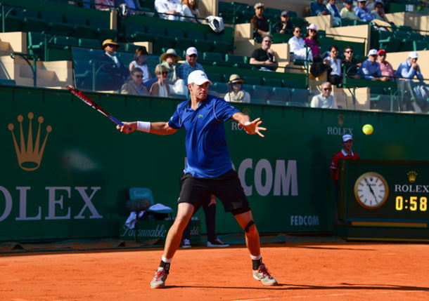 Isner Defeats Johnson in Monte-Carlo Opener