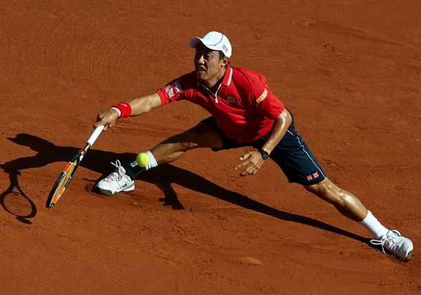 Nishikori Crushes Klizan to Reach Second Straight Barcelona Final