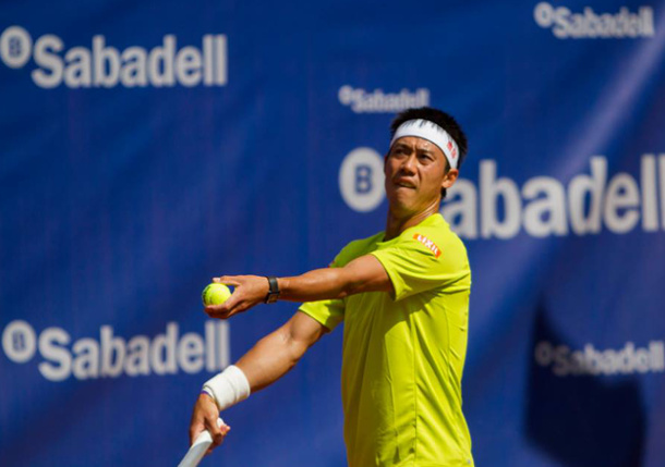 Video: Kei Nishikori on Health and Haas' Inspiration